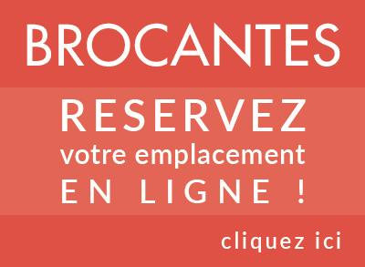 Réservation brocantes - Ronce-les-bains - Association des commerçants - Fest'Ronce